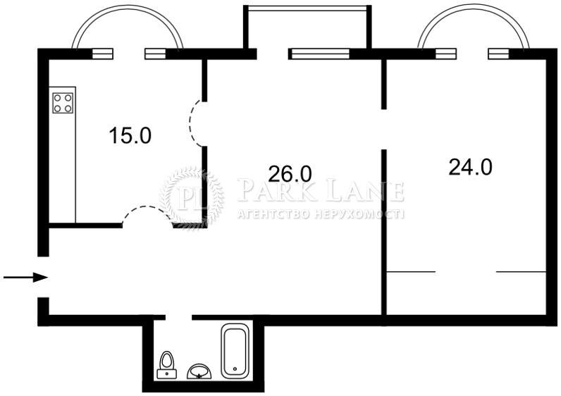 Квартира ул. Лютеранская, 6, Киев, C-63686 - Фото 2