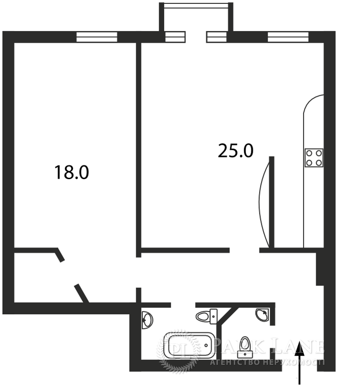 Квартира B-76869, Мазепы Ивана (Январского Восстания), 9, Киев - Фото 2