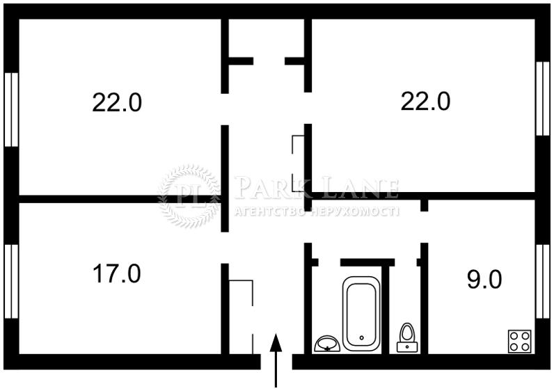Квартира ул. Крещатик, 25, Киев, J-12777 - Фото 2
