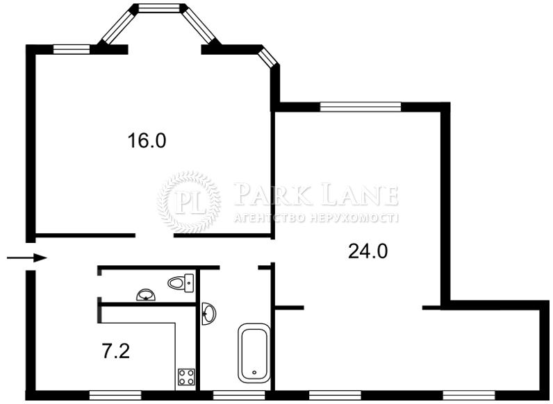 Квартира ул. Мазепы Ивана (Январского Восстания), 3, Киев, C-71874 - Фото 2