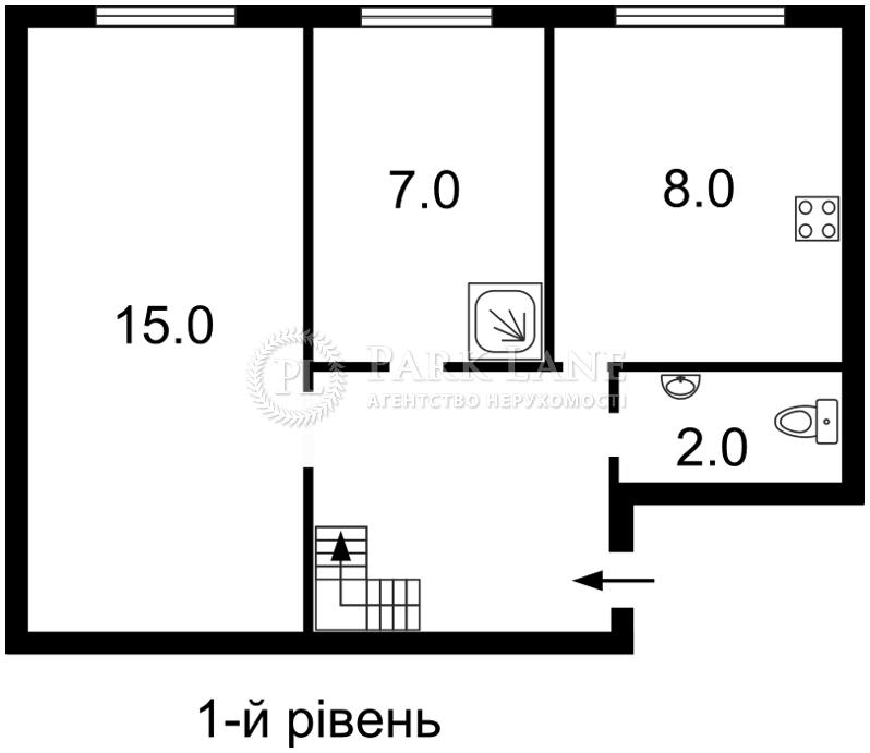 Квартира ул. Стельмаха Михаила, 6, Киев, I-13808 - Фото 2