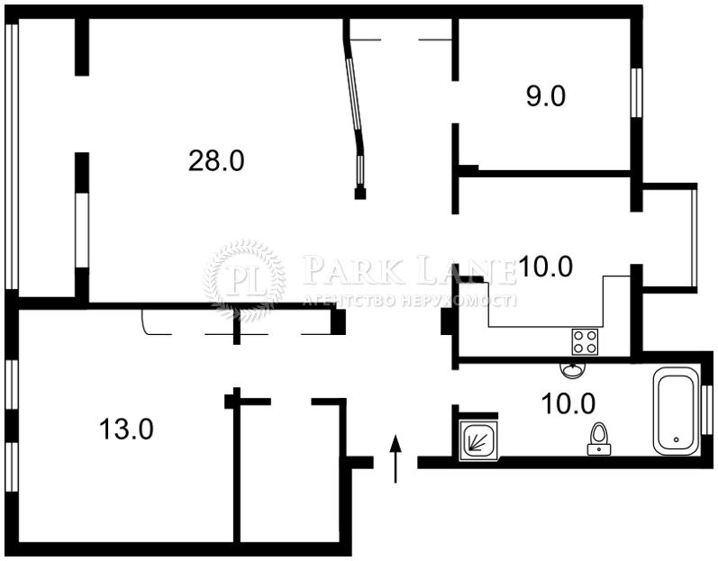 Квартира ул. Богомольца Академика, 7/14, Киев, Z-1199268 - Фото 2