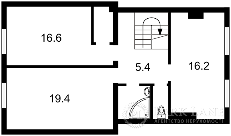 Квартира ул. Пушкина, 16б, Гостомель, Q-313 - Фото 3