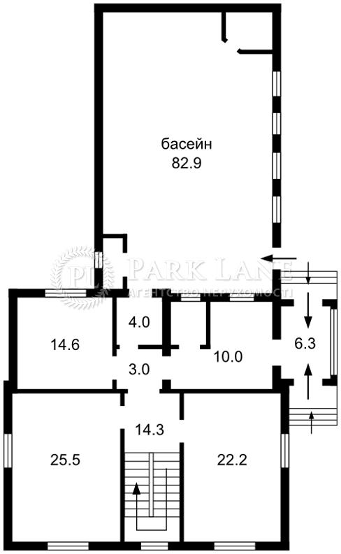 Будинок вул. Лобановського, Чайки, R-17445 - Фото 3