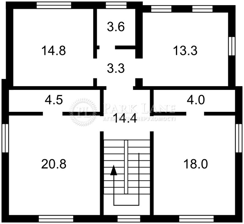 Будинок вул. Лобановського, Чайки, R-17445 - Фото 4