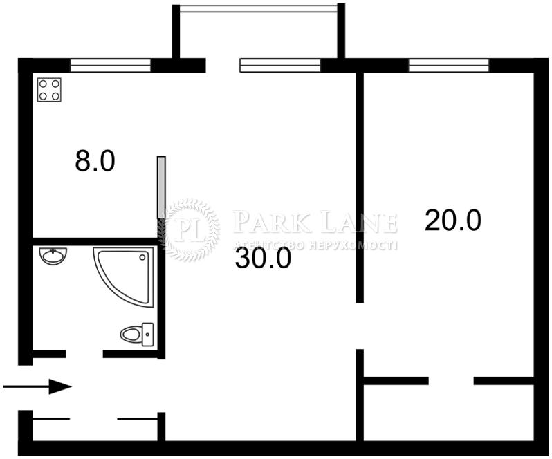 Квартира ул. Крещатик, 25, Киев, Z-582111 - Фото 2