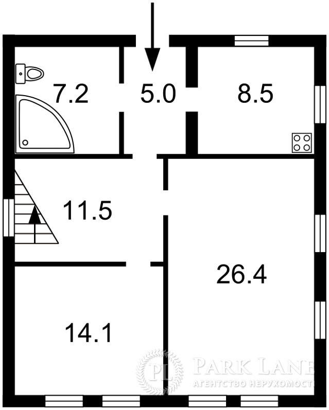 Будинок Відрадний просп., Київ, Z-1176890 - Фото 1