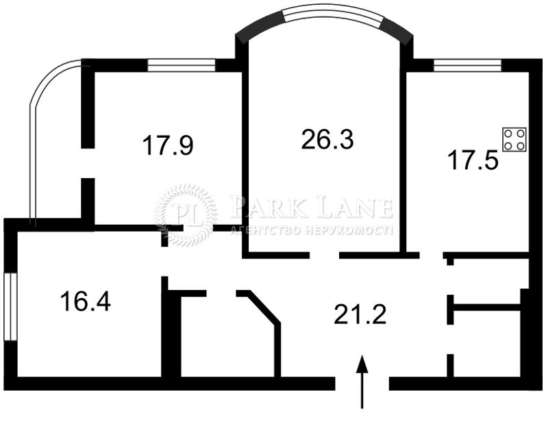 Квартира Z-1080671, Нежинская, 5, Киев - Фото 5