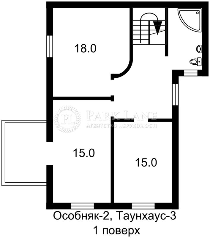 Дом ул. Добрый Путь, Киев, Z-963223 - Фото 11