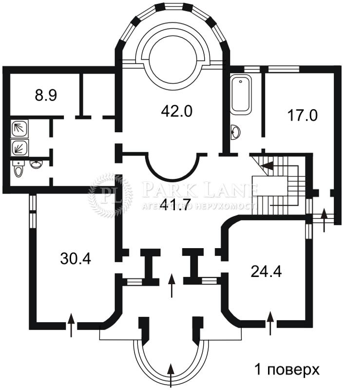 Дом Козин (Конча-Заспа), X-30496 - Фото 2