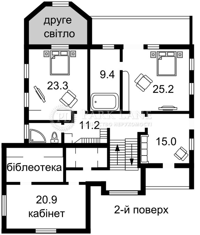 Дом ул. Верхнегорская, Киев, Z-1467016 - Фото 4