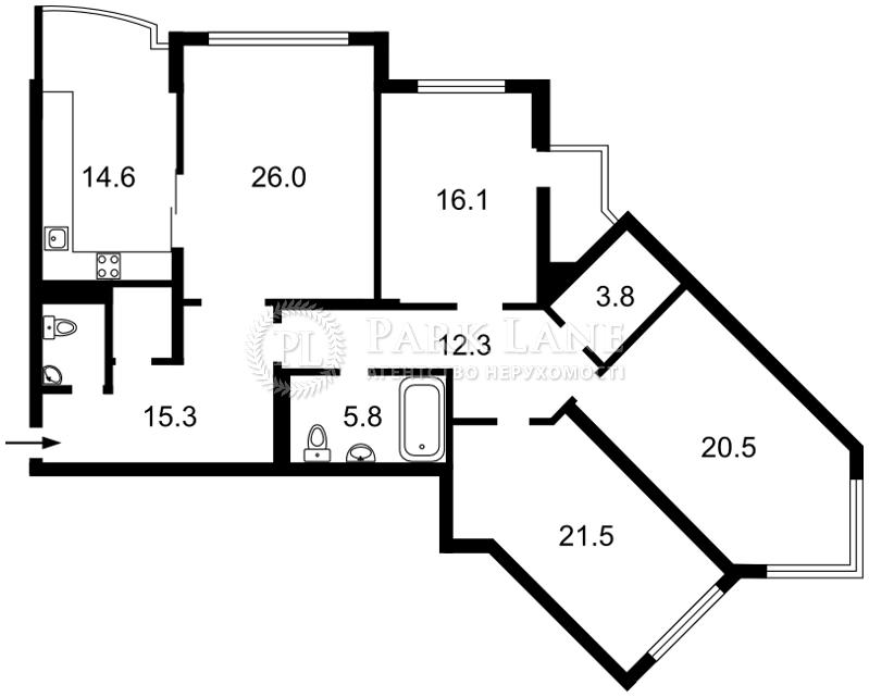 Квартира Z-1480882, Княжий Затон, 21, Киев - Фото 6