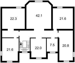 Дом J-19811, Козин (Конча-Заспа) - Фото 17
