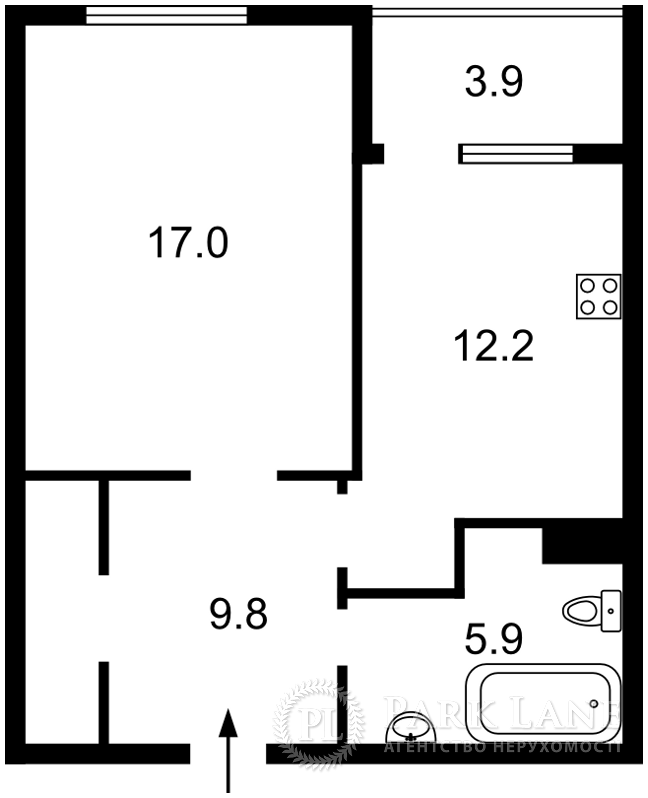 Квартира ул. Патриарха Скрипника (Островского Николая), 40, Киев, Z-578874 - Фото 2