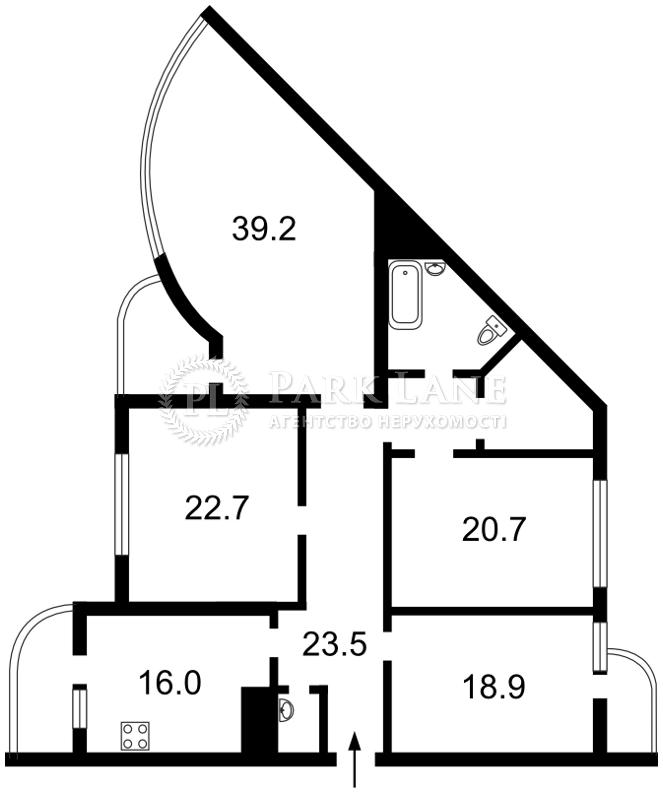 Квартира Голосеевский проспект (40-летия Октября просп.), 30б, Киев, E-33157 - Фото 2
