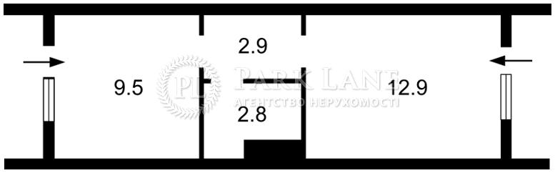 Нежитлове приміщення, вул. Кудряшова, Київ, H-33370 - Фото 2