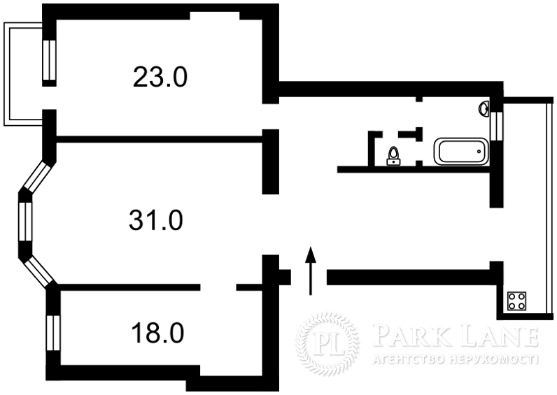 Квартира ул. Большая Васильковская, 108, Киев, Z-928106 - Фото 2