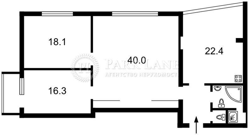 Квартира ул. Ярославов Вал, 15а, Киев, X-10627 - Фото 2