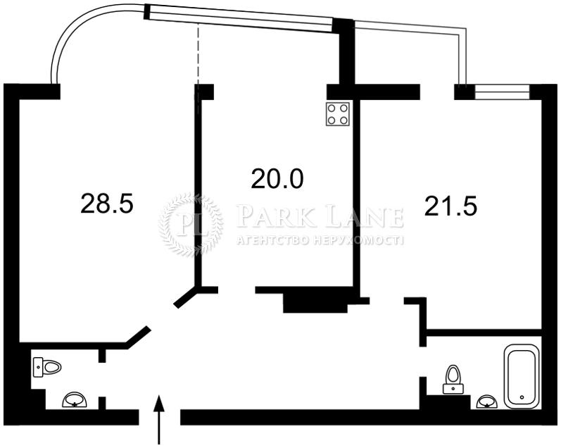 Квартира ул. Московская, 46/2, Киев, X-12191 - Фото 2