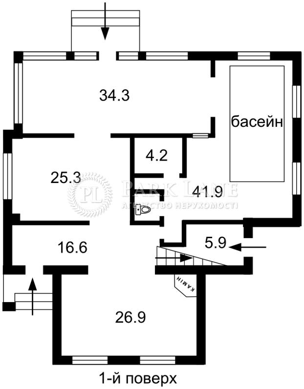 Будинок вул. Садова (Осокорки), Київ, M-14939 - Фото 1