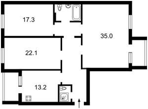 Квартира Z-1528253, Харьковское шоссе, 58а, Киев - Фото 6