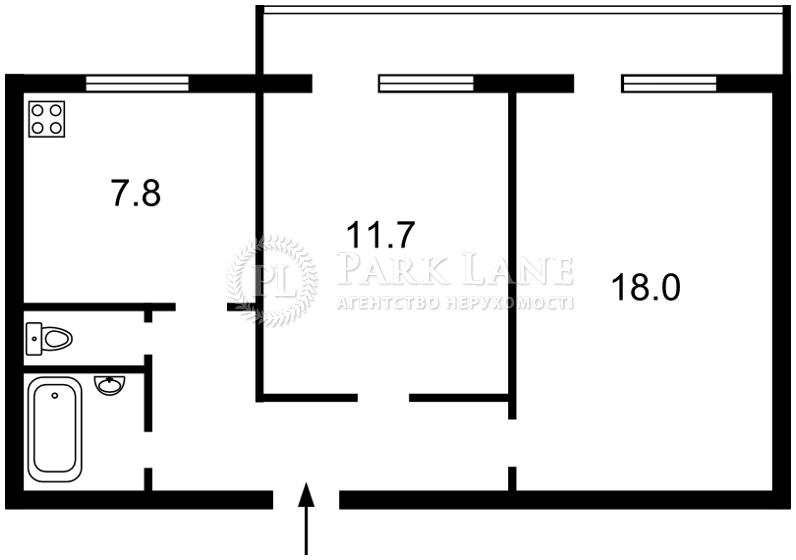 Квартира ул. Смилянская, 17, Киев, X-6767 - Фото 2