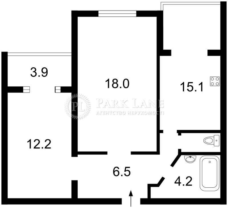 Квартира Героїв Сталінграду просп., 20, Київ, Z-1518598 - Фото 2