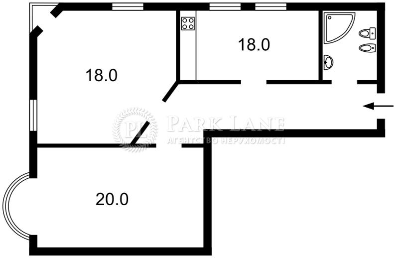 Квартира X-12831, Докучаевский пер., 4, Киев - Фото 3