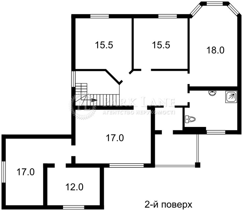 Будинок вул. Паркова, Юрівка (Києво-Святошинський), R-8146 - Фото 3