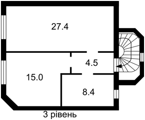 Будинок B-90064, Володимирська, Київ - Фото 4
