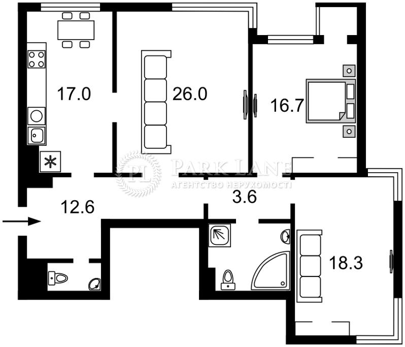 Квартира B-83745, Лобановского просп. (Краснозвездный просп.), 6г, Киев - Фото 3