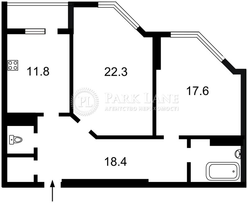 Квартира ул. Краснова Николая, 19, Киев, Y-893 - Фото 2