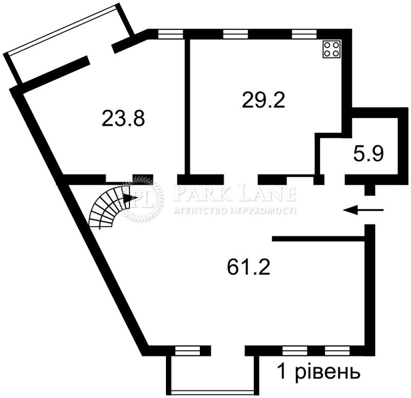 Квартира ул. Константиновская, 1, Киев, Q-1469 - Фото 2