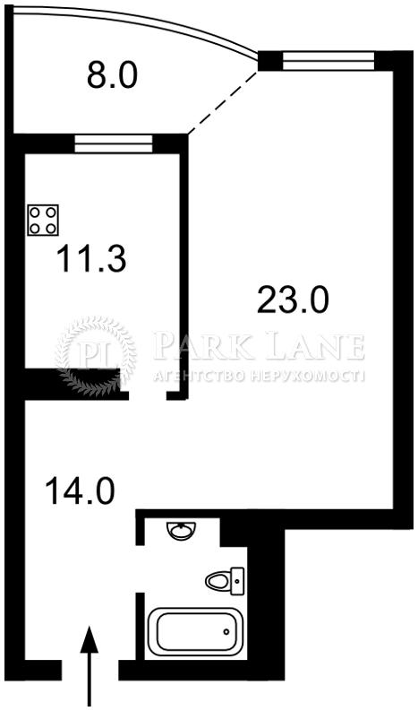 Квартира X-27907, Гетьмана Вадима (Индустриальная), 1в, Киев - Фото 5