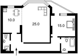 Квартира Z-1531297, Никольско-Слободская, 1а, Киев - Фото 6