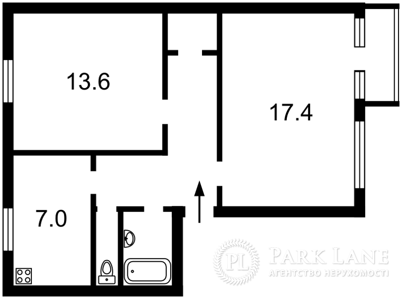 Квартира ул. Джона Маккейна (Кудри Ивана), 37, Киев, F-8526 - Фото 2