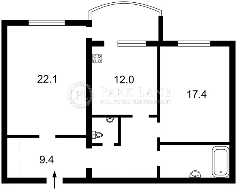 Квартира X-17869, Героев Сталинграда просп., 6 корпус 3, Киев - Фото 4