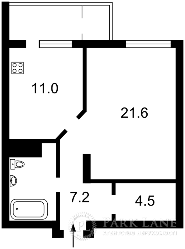 Квартира Z-1498682, Драгомирова Михаила, 20, Киев - Фото 6