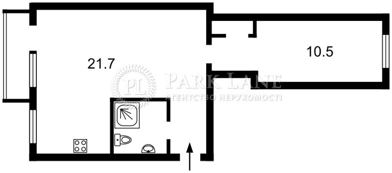 Квартира ул. Генерала Алмазова (Кутузова), 9, Киев, B-90538 - Фото 2