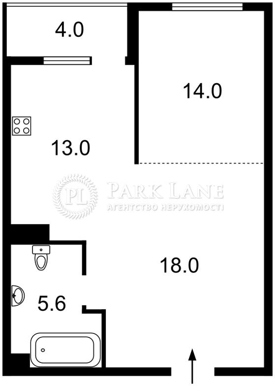 Квартира ул. Патриарха Скрипника (Островского Николая), 40, Киев, X-17236 - Фото 2