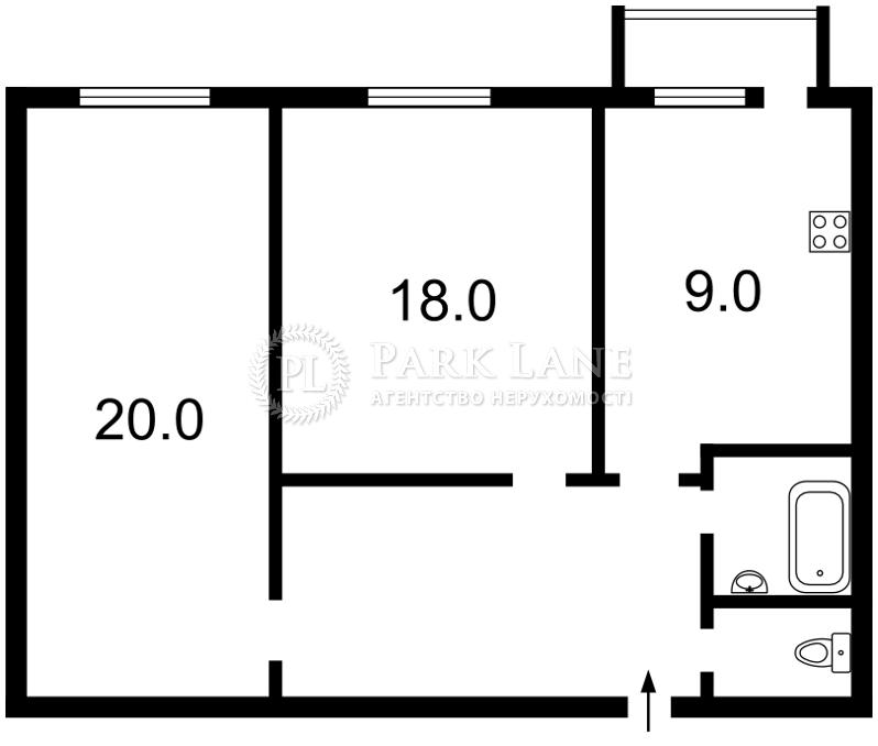 Квартира вул. Ахматової Анни, 31, Київ, X-13746 - Фото 2