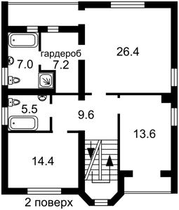 Дом Z-1230827, Гостомель - Фото 4