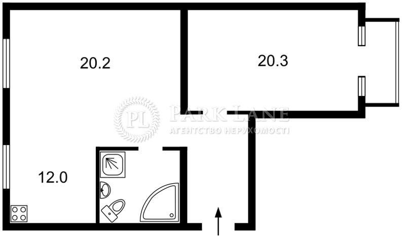 Квартира вул. Юрківська, 28, Київ, Z-622820 - Фото 2