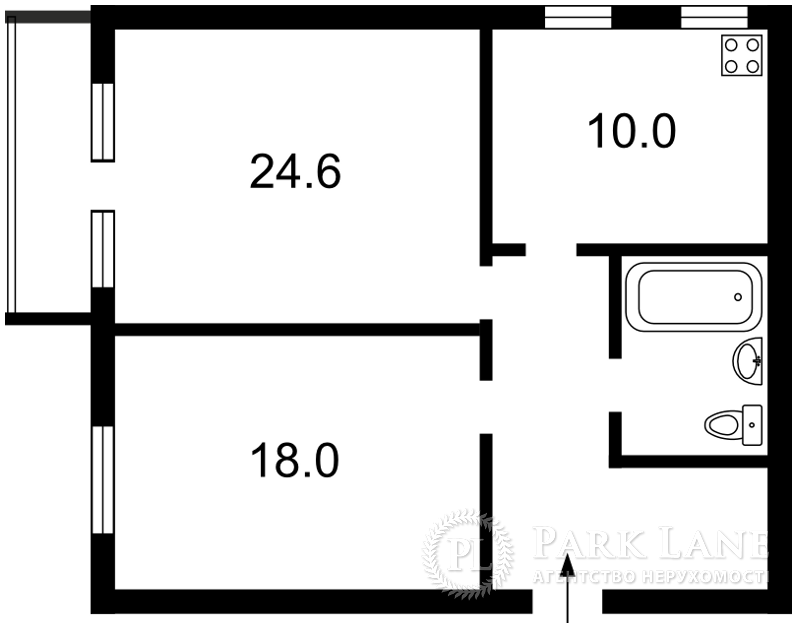 Квартира X-21260, Довнар-Запольского Митрофана, 4, Киев - Фото 4