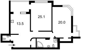 Квартира X-22634, Бажана Николая просп., 1м, Киев - Фото 5
