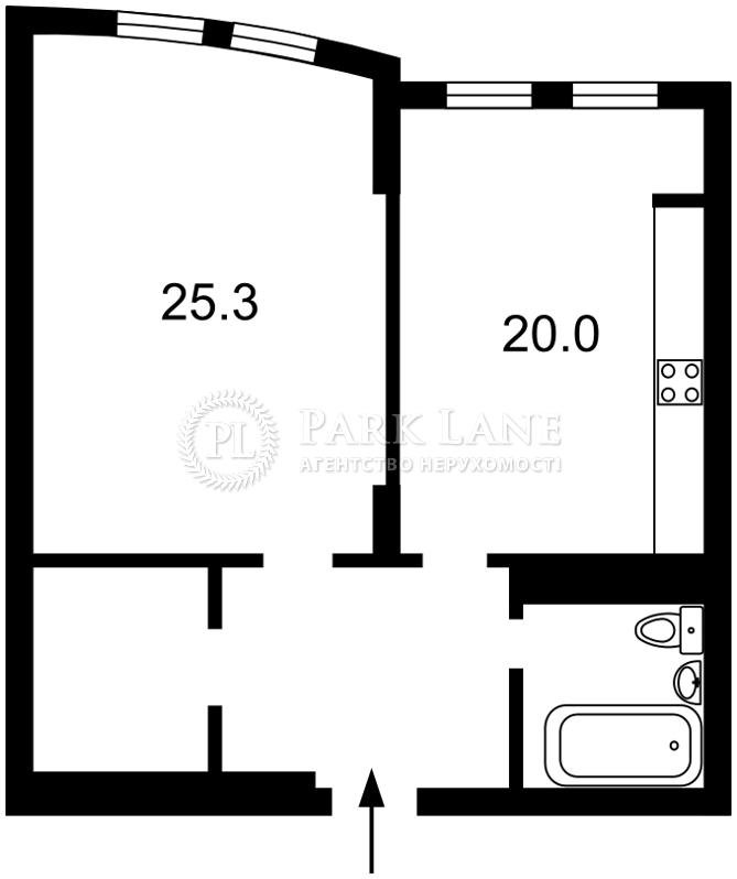 Квартира ул. Голосеевская, 13а, Киев, Z-1159374 - Фото 2