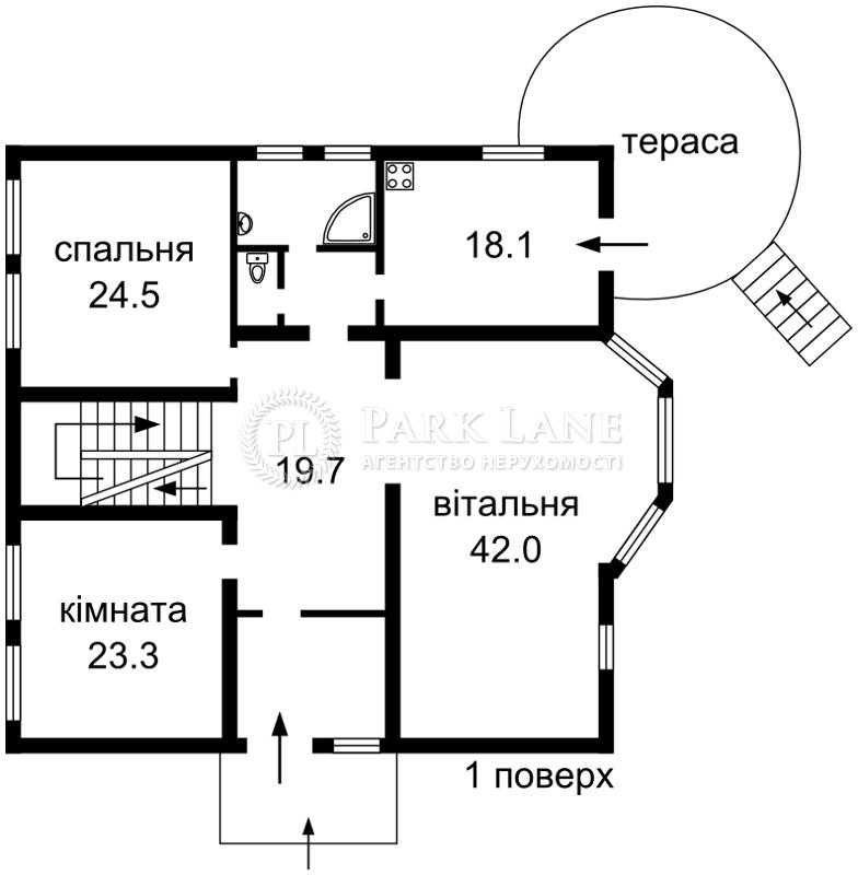 Будинок вул. Садова, Петропавлівська Борщагівка, Z-663778 - Фото 3