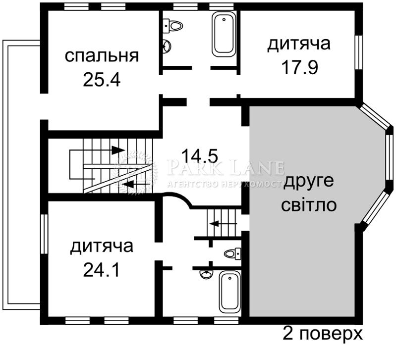 Будинок вул. Садова, Петропавлівська Борщагівка, Z-663778 - Фото 4