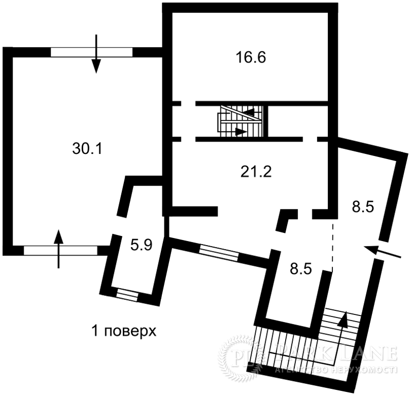 Дом ул. Квитки-Основьяненко, Киев, X-23796 - Фото 1