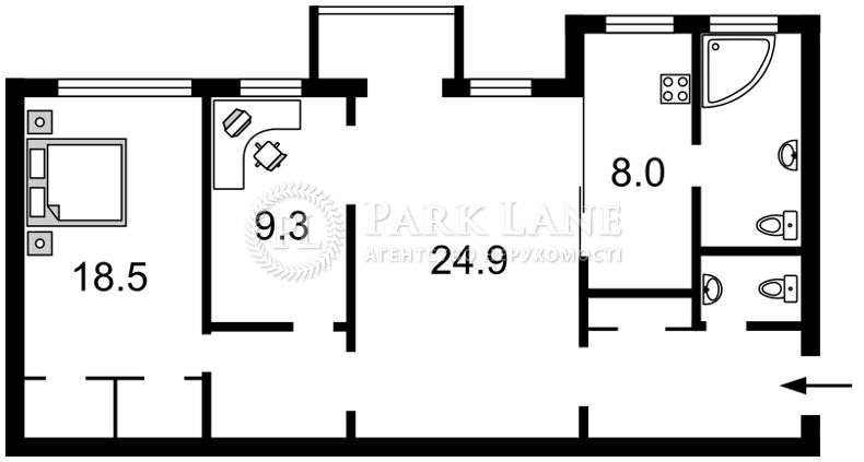 Квартира B-90885, Терещенковская, 13, Киев - Фото 6